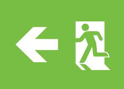 Emergency Exit Signs Symbols